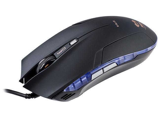 E-Blue Cobra Junior EMS129BK Black Wired Optical Mouse