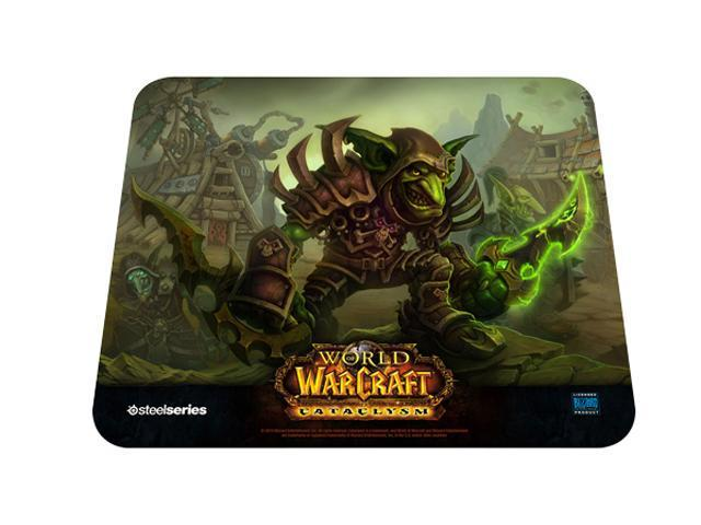 SteelSeries QcK 67209 Cataclysm Goblin Edition Mouse Pad