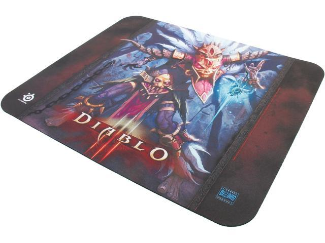 SteelSeries 67223 QcK Diablo III Gaming Mouse Pad - Witch Doctor Edition