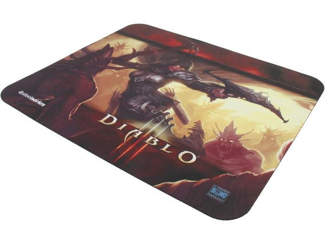 SteelSeries 67227 QcK Diablo III Gaming Mouse Pad - Demon Hunter Edition
