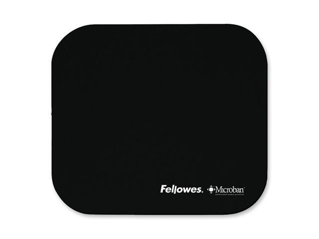 Fellowes 5933901 Microban-Black Mouse Pad