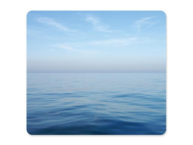 Fellowes 5903901 Recycled Mouse Pad - Blue Ocean