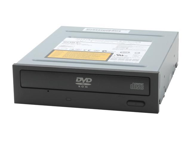 Sony Optiarc Black 16X DVD-ROM 48X CD-ROM IDE DVD-ROM Drive Model DDU1615/B2s - OEM