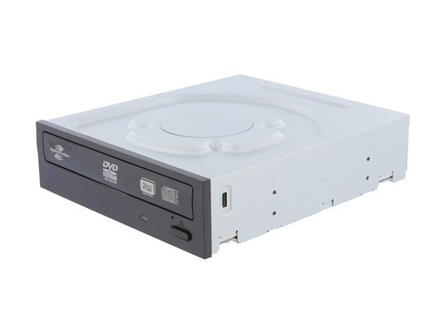 LITE-ON 24X DVD Writer - Bulk - Black SATA Model iHAS224-06 LightScribe Support