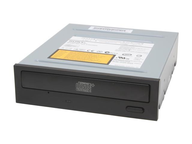 Sony Optiarc CD Burner 52X CD-R 32X CD-RW 52X CD-ROM Black E-IDE(ATAPI) Model CRX230EE/B2 W/O SW - OEM