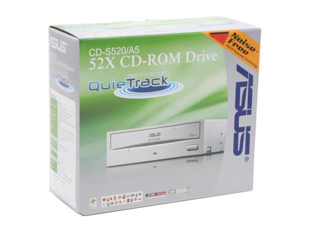 ASUS Beige 52X CD-ROM E-IDE/ATAPI CD-ROM Drive Model CD-S520/A5