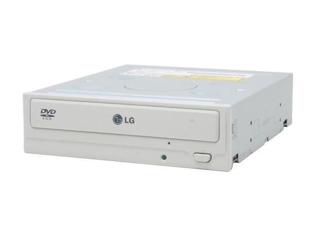 LG Beige 16X DVD-ROM 52X CD-ROM E-IDE/ATAPI DVD-ROM Drive Model GDR-8164BB - OEM