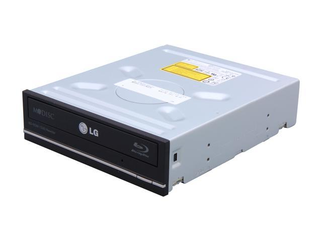 LG Black 12X Blu-ray Combo Drive SATA Model UH12NS29