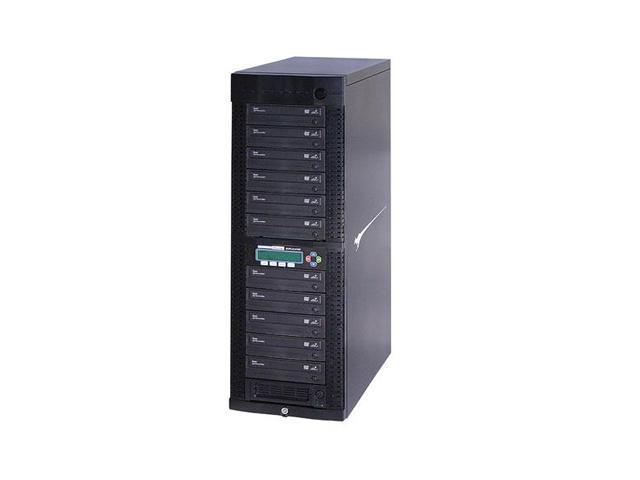 Kanguru Black 1 to 11 DVD Duplicator w/ Internal Hard Drive Model DVDDUPE-SHD11