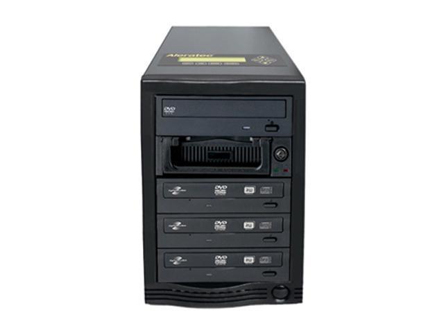 Aleratec Black 1 to 3 CD/DVD Tower Publisher SLS Duplicator Model 260172