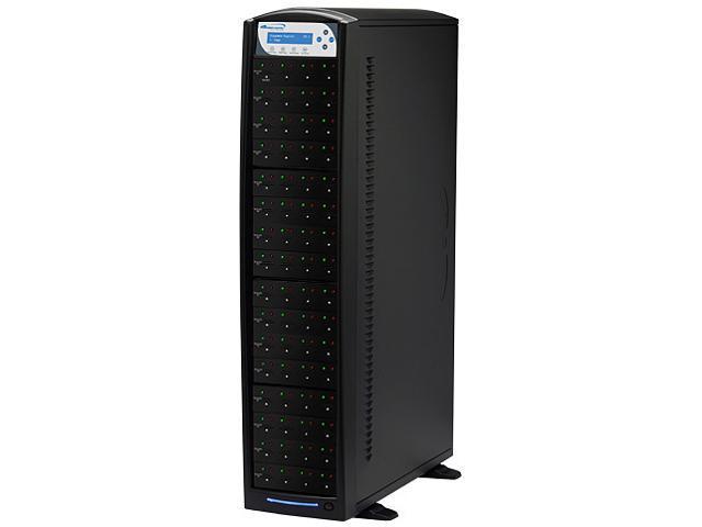 VINPOWER 1 to 63 128M Buffer Memory SDShark SD & MicroSD Duplicator Model SDShark-63T-BK