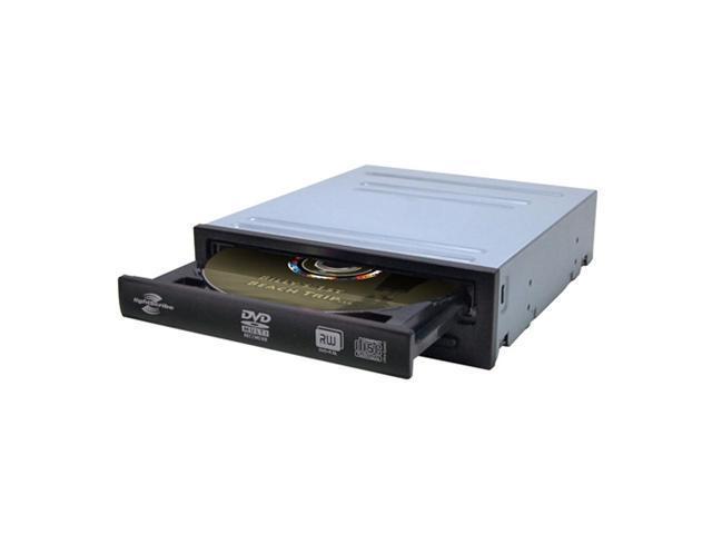 GEAR HEAD 24x DVD Burner Black SATA Model 24XDVDINTLS LightScribe Support