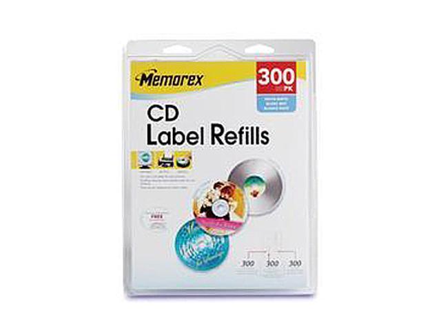 Memorex 403 CD/DVD Labels