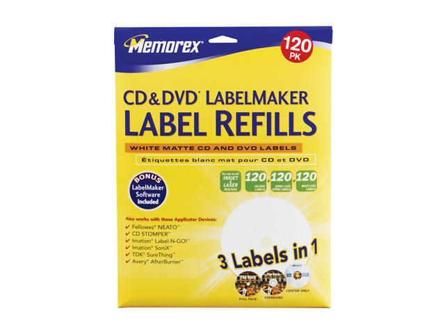 Memorex 424 CD Labels Refills