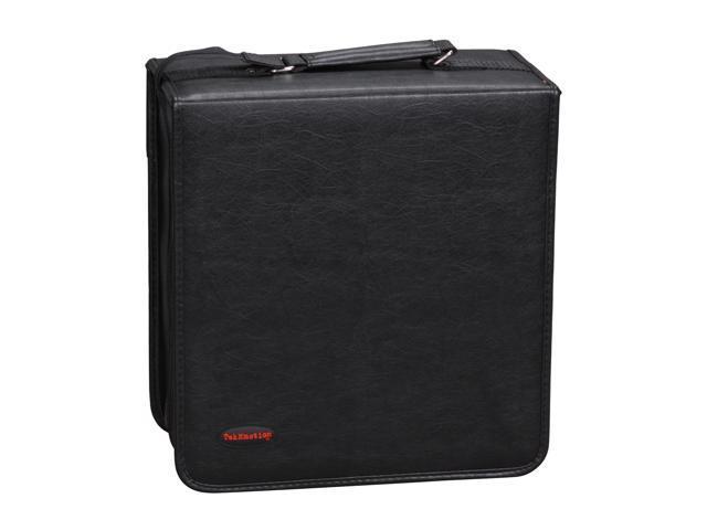TekNmotion TM-CD400B1 400 CD / DVD Black Binder Case