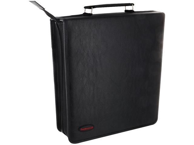 TekNmotion TM-CD256B1 256 CD / DVD Binder Case - Black - OEM