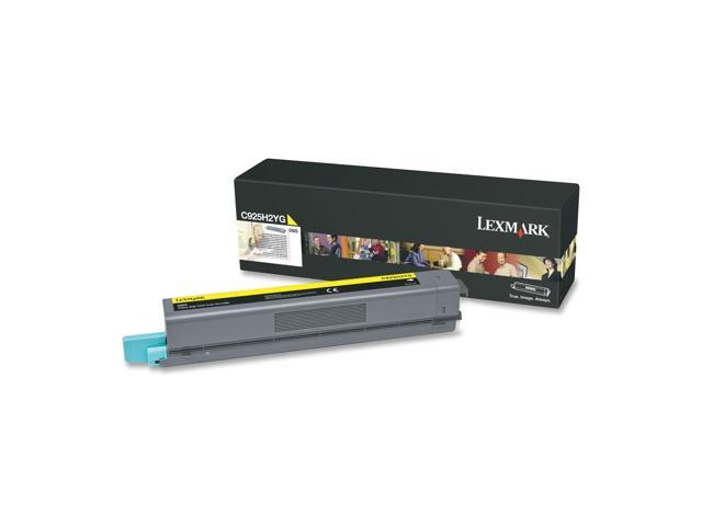 LEXMARK C925H2YG Toner Cartridge, 7500 Pages Yield; Yellow