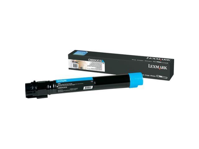 Lexmark C950X2CG Extra High Yield Cyan Toner Cartridge
