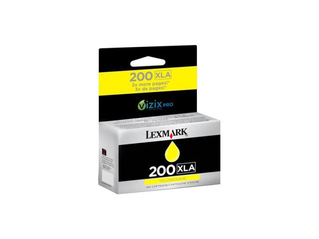 LEXMARK 200XLA(14L0200) Ink Cartridge Yellow