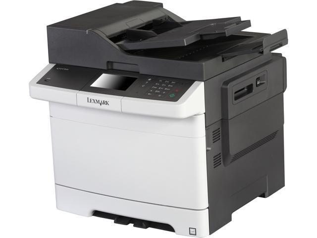 LEXMARK CX410de 1200 x 1200 dpi USB/Ethernet All-In-One Color Laser Printer