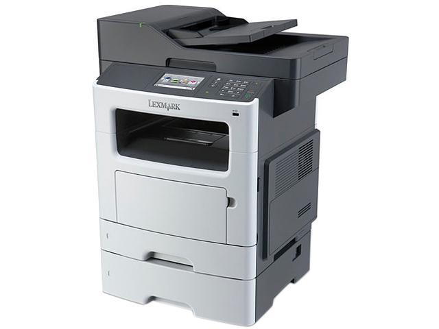 Lexmark MX511DTE Monochrome Multifunction Laser Printer