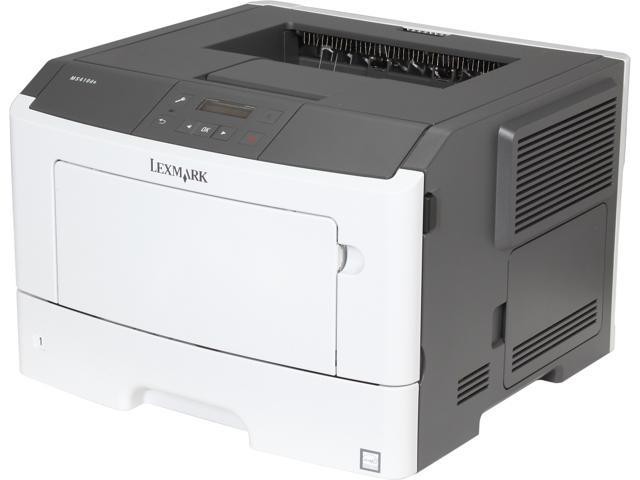 Lexmark MS410dn Small Workgroup Print Speed (Letter, Black): Up to 40 ppm Print Speed (Letter, Black) Duplex: Up to 18 spm Monochrome Optional(Purchase apapter separate) Laser Laser Printer