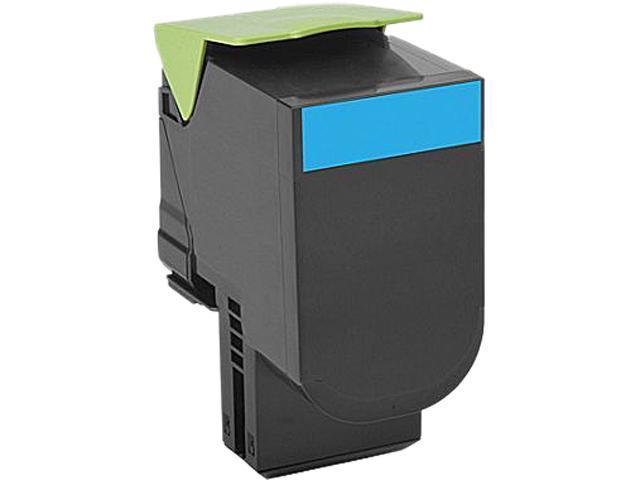 LEXMARK 701C (70C10C0); Return Program 701C Cyan Return Program Toner Cartridge Cyan