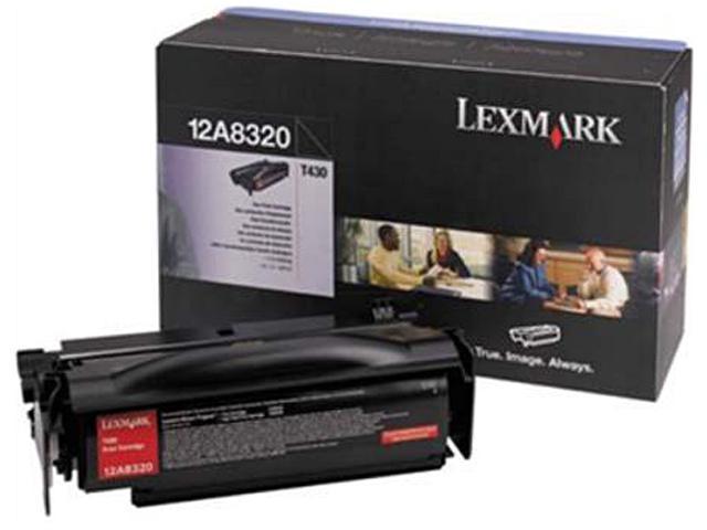 LEXMARK 52D0XA0 Extra High Yield Toner Cartridge Black
