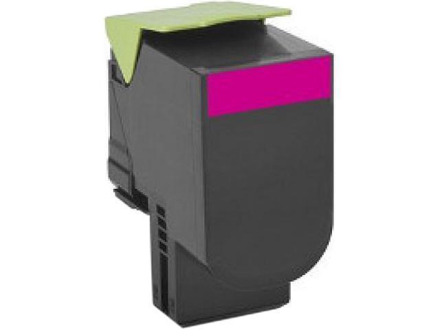 LEXMARK 80C0S30 Standard Yield Toner Cartridge Magenta
