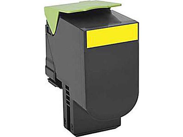 LEXMARK 80C0S40 Standard Yield Toner Cartridge Yellow
