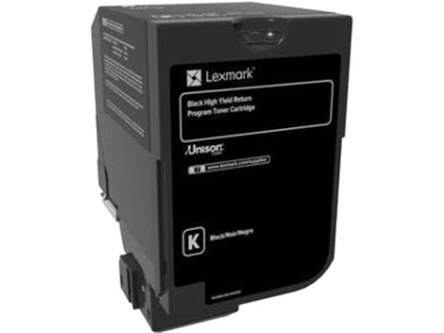 LEXMARK 74C10K0 CS720, CS725, CX725 Return Program Toner Cartridge Black