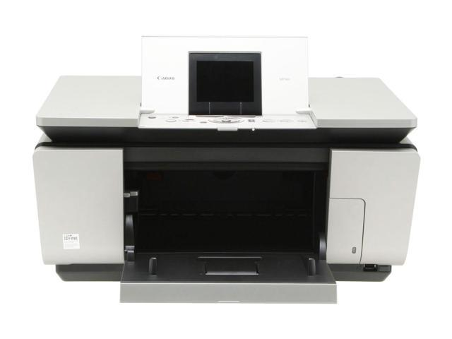 Canon PIXMA MP960 1454B002 Up to 30 ppm Black Print Speed Up to 9600 x 2400 dpi Color Print Quality Bubble Jet MFC / All-In-One Color Printer