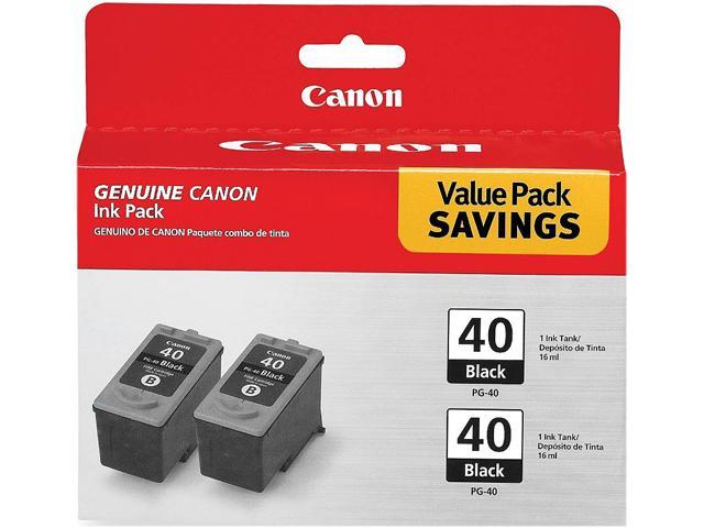 Canon PG-40 2-pack Ink tank&#59; 2 Black (0615B013)