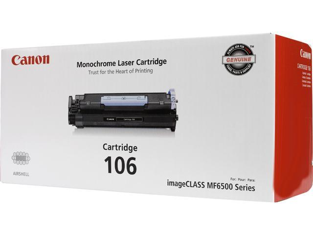 Canon CRG 106 Black, Cartridge 106 (0264B001) Toner Cartridge Black