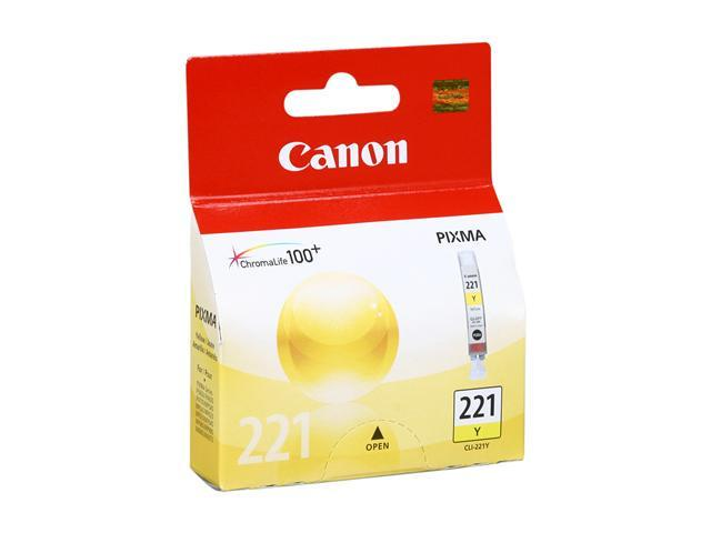 Canon CLI-221Y Ink tank&#59; Yellow (2949B001)
