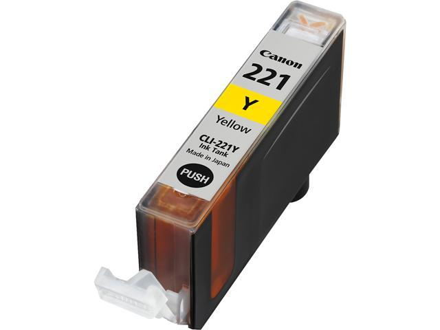 Canon CLI-221Y (2949B001) Ink Tank Yellow