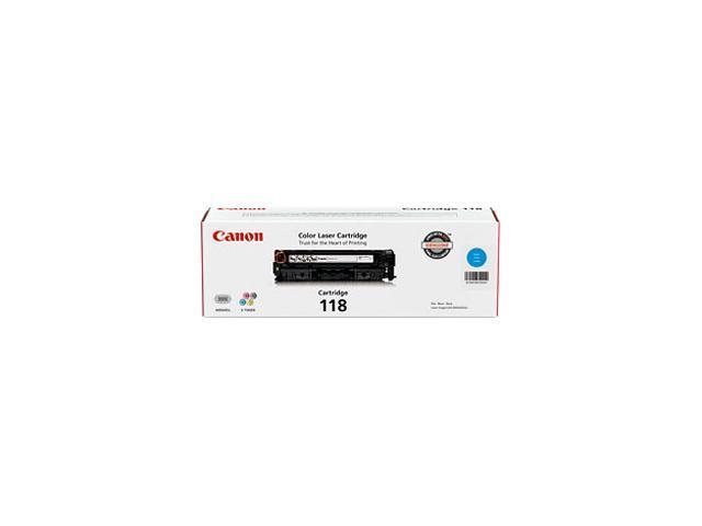 Canon 118 2661B001AA Toner Cartridge Cyan