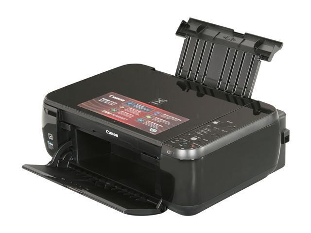 Canon PIXMA MP495 with PP-201 8.8 ipm Black Print Speed 4800 x 1200 dpi Color Print Quality Wireless InkJet MFC / All-In-One Color Printer