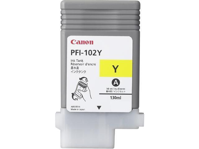 Canon LUCIA PFI-102Y Ink Tank Yellow