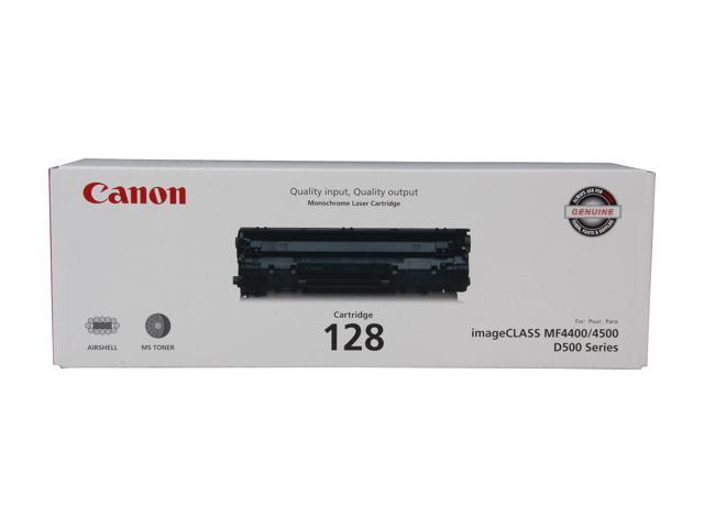 Canon 128 (3500B001) Toner Cartridge 2,100 Yield Pages; Black