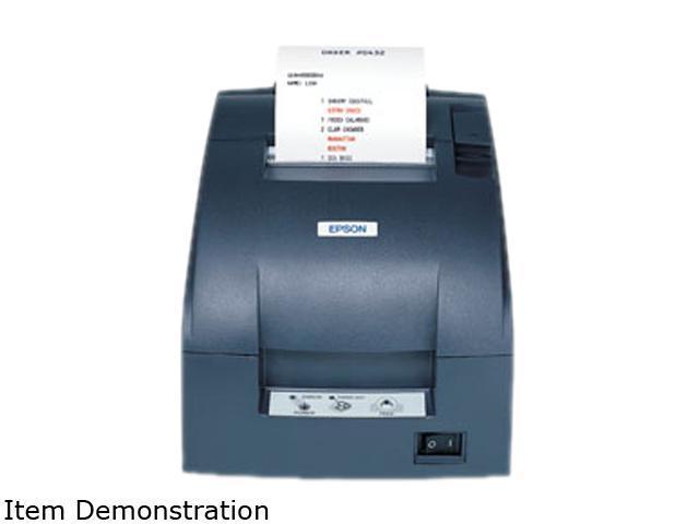 EPSON TM-U220D C31C515A8781 24kb Programmable Serial Buffer Receipt Printer