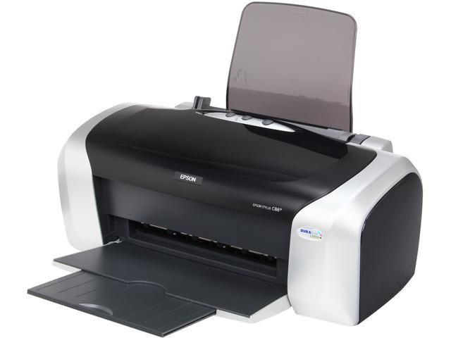 EPSON Stylus CX C88+ Up to 23 ppm Black Print Speed up to 5760 x 1440 optimized dpi Color Print Quality InkJet Personal Color Printer ...