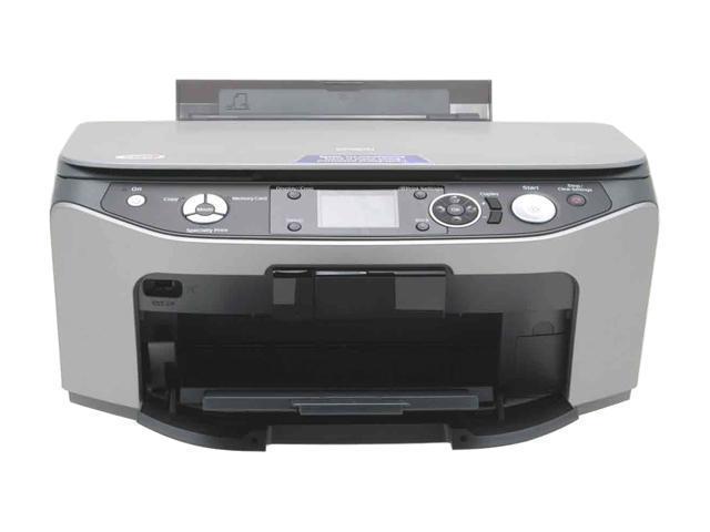 EPSON Stylus Photo RX580 C11C663011 Up to 30 ppm Black Print Speed 5760 x 1440 dpi Color Print Quality InkJet Photo Color Printer