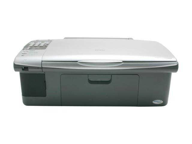 EPSON Stylus CX7000F C11C676001 Up to 27 ppm Black Print Speed InkJet MFC / All-In-One Color Printer