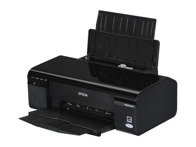 EPSON WorkForce 30 Up to 38 ppm Black Print Speed 5760 x 1440 dpi Color Print Quality InkJet Personal Color Printer
