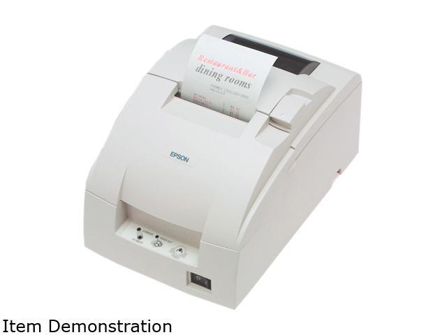 Epson C31C514603TM-U220B Dot Matrix Receipt Printer with Auto-Cutter