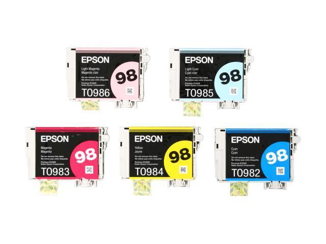 Evolis 98 (T098920) Claria High-capacity multi-pack Cartridge 5 Colors