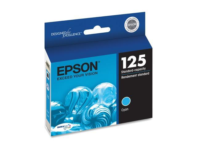 EPSON T125220 125 Ink Cartridge Cyan