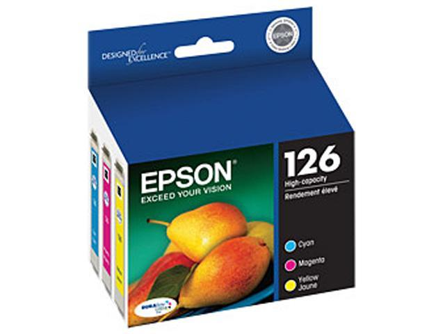 EPSON 126 (T126520) High-capacity ink Cartridge Multi-pack (Cyan, Magenta, Yellow)