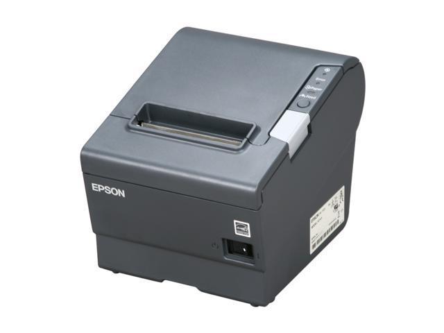 Epson TM-T88V POS Thermal Receipt Printer - Dark Gray ...
